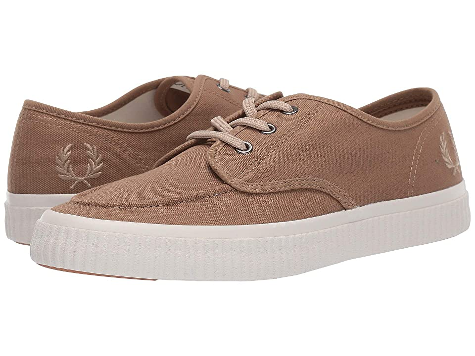 Fred Perry Ealing Low Canvas (Almond/Warm Stone) Men