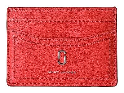Marc Jacobs Card Case (Geranium) Wallet Handbags