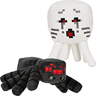JINX Minecraft Large Plush Stuffed Toy Pack (Spider and Ghast)