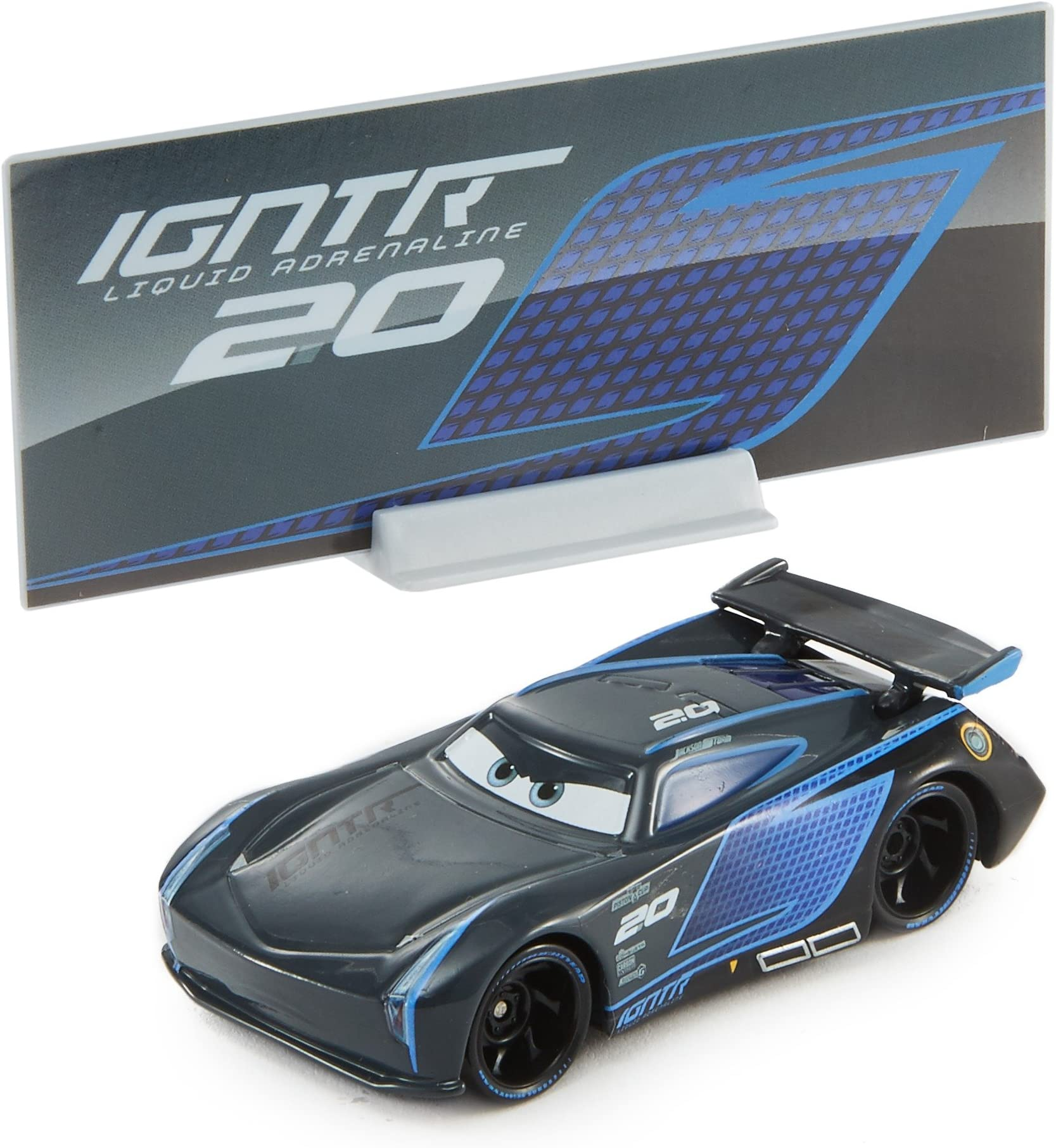DISNEY PIXAR CARS JACKSON STORM NEW WITHOUT THE PACKAGING SAVE 8/%