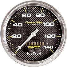 "Auto Meter 4881 FIBRA DE CARBONO 5"" Velocímetro GPS (0-140 MPH)"