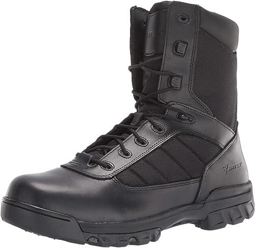 "Bates Men's 8"" Ultralite Tactical Sport Side Zip Military Boot"