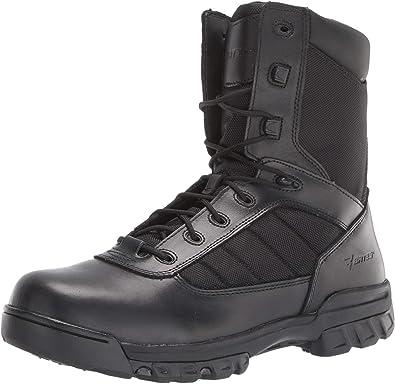 Bates Men's 8'' Tactical Sport Side Zip Military Boot