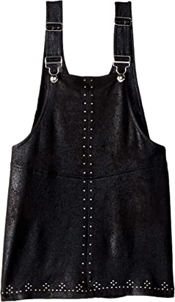 Black Shortall Dress (Big Kids)