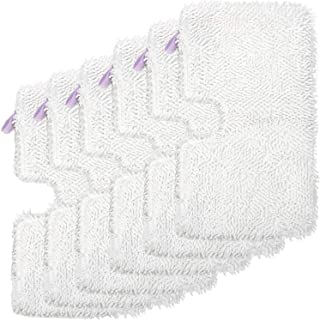 Mr.ZZ 6 Pack Replacement Washable Microfiber Mop Pads Cleaning Pads for Shark Steam Pocket Mops S3500 Series S3501 S3601 S3550 S3901 S3801 SE450 S3801CO S3601D