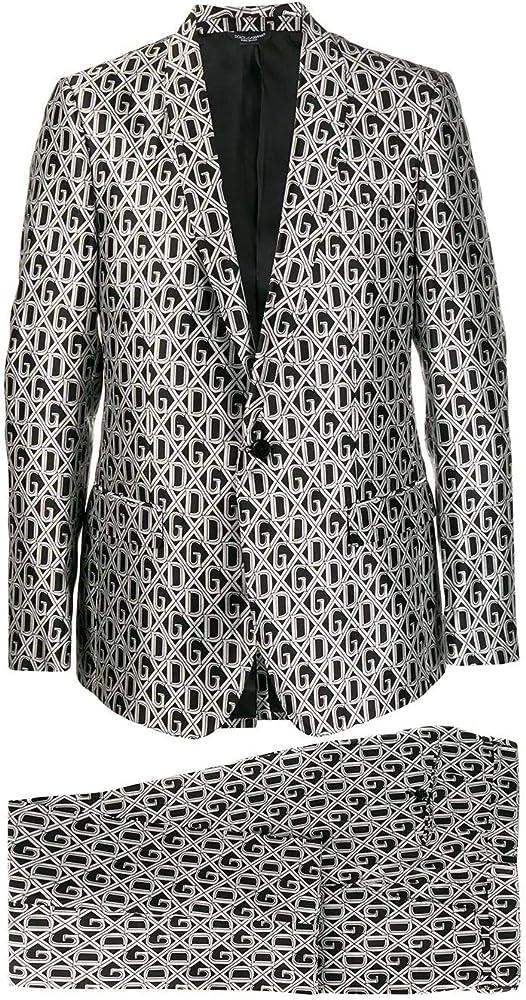 Dolce & gabbana luxury fashion,abito per uomo,in vera seta al 100 % GK3AMTIS1ARHN67C
