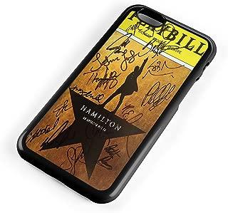 Playbill Hamilton Signatures for Iphone Case (iPhone 7 black)