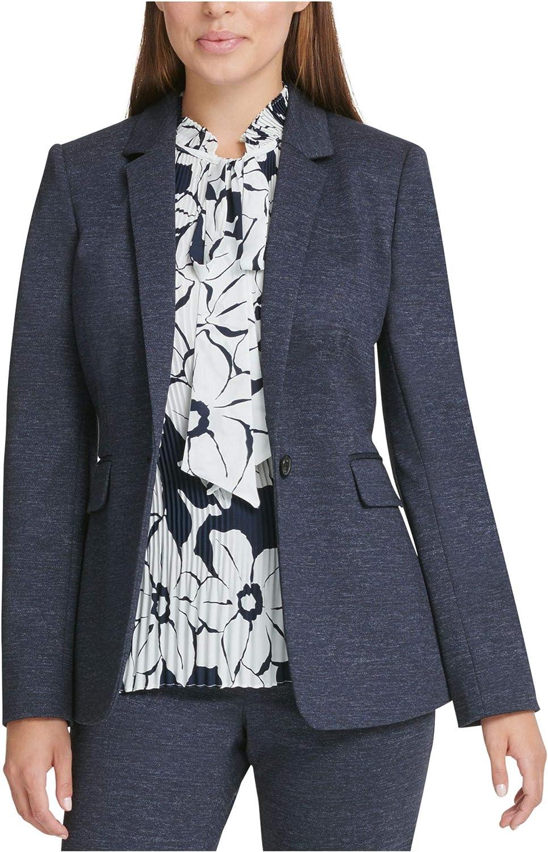 DKNY Womens Suit Separate Work Wear One-Button Blazer