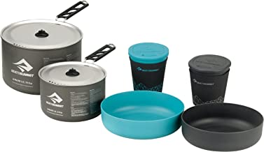 Sea To Summit Alpha Cook Set 2.2, Unisex-Adult, Pacific Blue/Grey