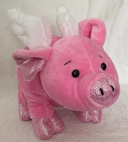 Webkinz 8.5 Flutter Pig Plush by Webkinz