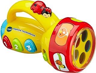 VTech 伟易达 婴儿 80-124004-趣味手电筒, A, 多种颜色, 1 - Pack
