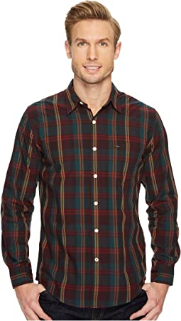 Dockers Premium - Laundered Fitted Long Sleeve Shirt