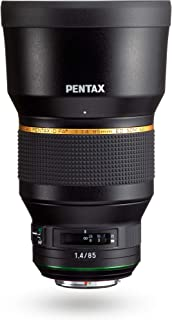 Pentax HD PENTAX-D FA85mmF1.4ED SDM Prime Telephoto Lens New-Generation, Star-Series Lens Latest PENTAX Lens Coating Technologies Extra-Sharp, high-Contrast Images Free of Flare and Ghost Images