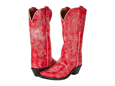 Old West Boots Kaye (Red) Cowboy Boots