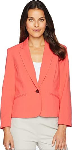 Bi Stretch Button Jacket