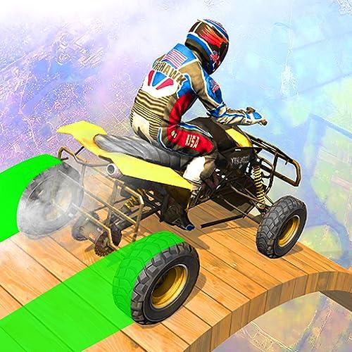 Extreme Hot ATV Quad Wheels Stunt: Mega Ramp Bike Stunts Game 3D