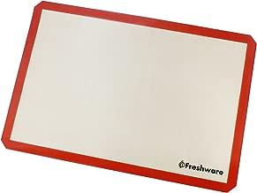 Freshware Silicone Baking Mat, Full Size, 24.4 x 16.5 inch