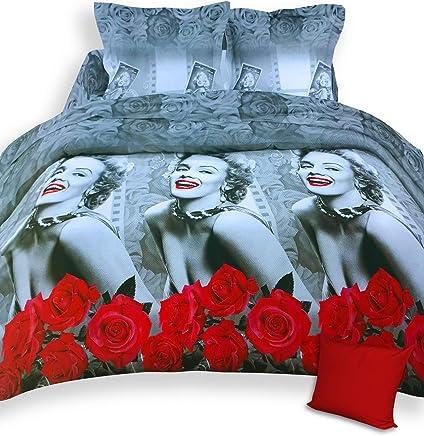Edredon Marilyn Monroe.Amazon Es Marilyn Monroe Edredones Y Fundas Para Edredon Ropa