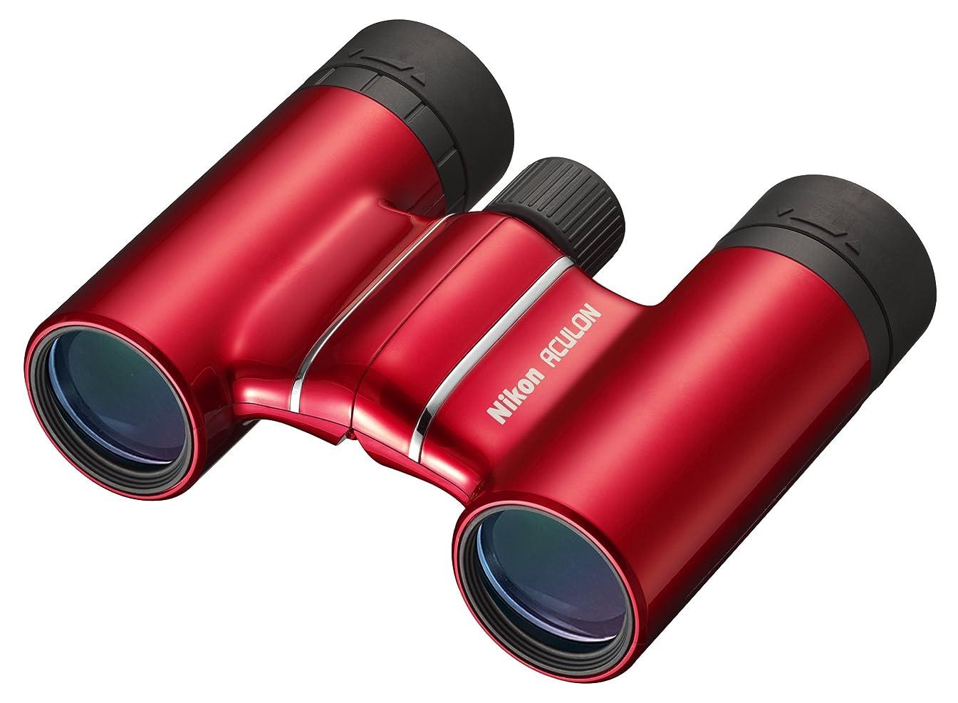 Nikon 6490 ACULON 8x21 T01 Binocular (Red)