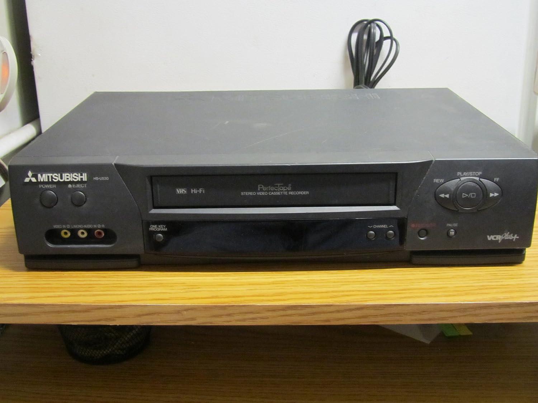 Mitsubishi Hs-u530 Hifr Stereo video cassette recorder Perfectape