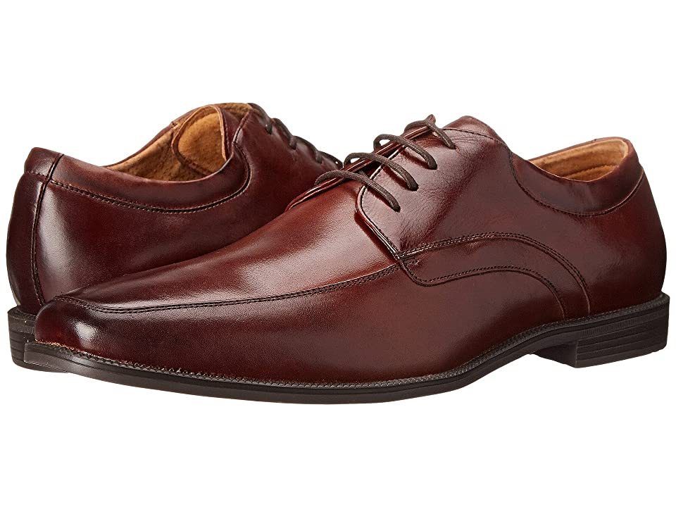 Florsheim Forum Moc Toe Oxford (Cognac Smooth) Men