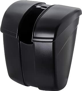 San Jamar SI2000 Saf-T-Ice Plastic Scoop Caddy for Scoops, 86 oz, Black