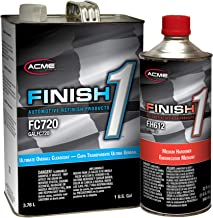 SHERWIN WILLIAMS Finish 1 Ultimate Overall Clearcoat, FC720, 1GAL /with Hardener (Hardener Medium - FH612)