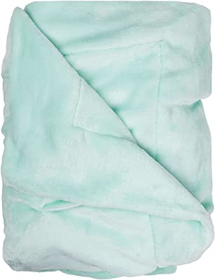 Bash Oona Ulta Plush Soft /& Warm Sherpa Throw Blanket Lala Sea Foam Blue 50 x 60
