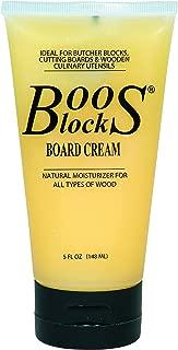 John Boos Block BWCB Butcher Block Board Cream, 5 Ounce