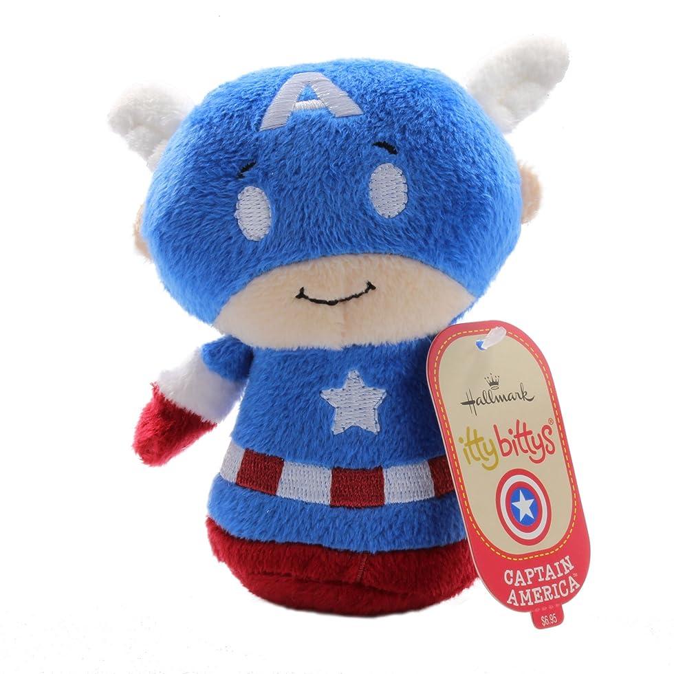 腐敗手順付き添い人1 X Hallmark Kid3258 Itty Bittys - Captain America [並行輸入品]