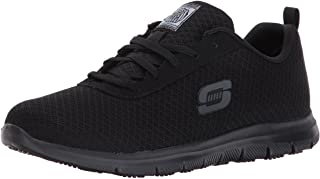 Skechers Womens, Ghenter Bronaugh Lace up Work Shoes