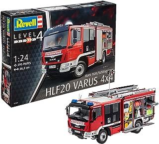 Revell- Maqueta Man TGM/Schlingmann HLF 20 VARUS 4x4, de extinción de Incendios, Kit Modello, Escala 1:24 (07452), 36,3 cm de Largo (