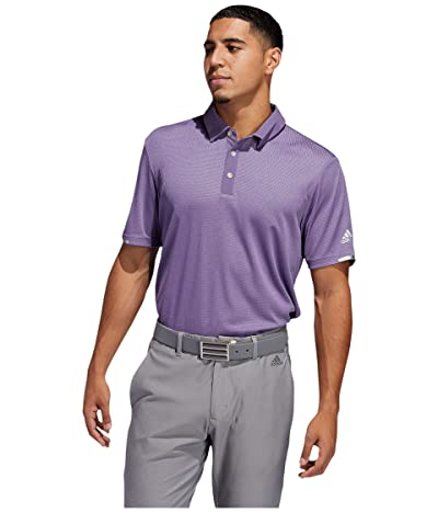 adidas Golf Heat.Rdy Base Polo Shirt (Tech Purple Melange) Men