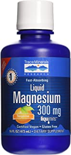 Trace Minerals Research Liquid Magnesium 300 Mg, 16 Fl oz