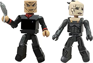 Diamond Select Toys Star Trek Legacy Minimates Series 1 First Contact Captain Picard and Borg Queen Action Figure