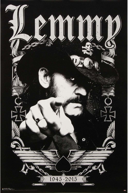Official Lemmy 49 Mofo Maxi Poster 91.5 x 61cm Kilmister Ace Of Spades Motörhead
