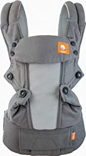 Baby Tula Coast Explore Baby Carrier 3.2 – 20.4 kg, Adjustable Newborn to Toddler Carrier, Multiple Ergonomic Positions, Front and Back Carry, Easy-to-Use, Lightweight – Graphite, Charcoal