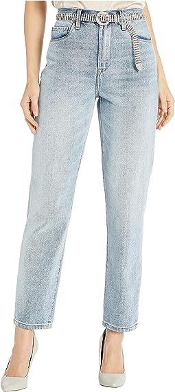 Jones New York Womens Madison Slim Denim Jean