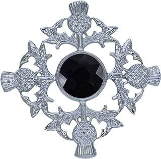 Espada celta escocesa Kilt Pin Cardo Empuñadura//cabeza de Cardo Kilt Pin Cromo irlandés