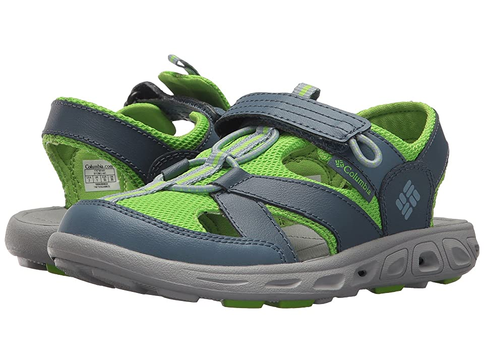Columbia Kids Techsun Wave (Toddler/Little Kid/Big Kid) (Monument/Nuclear) Boys Shoes