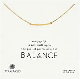 Dogeared - Balance Medium Square Bar Necklace