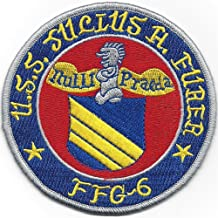 USS Julius A. Furer FFG-6 Guided Missile Frigate Ship Patch