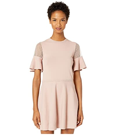 RED VALENTINO Stretch Viscose Yarn and Point D