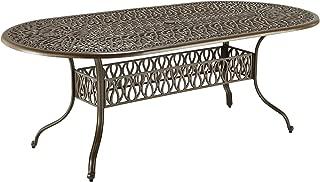 Best cast aluminum oval patio table Reviews