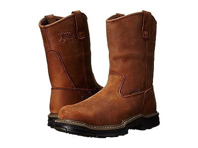 Wolverine Marauder Multishox(r) Waterproof Steel Toe (Brown) Men