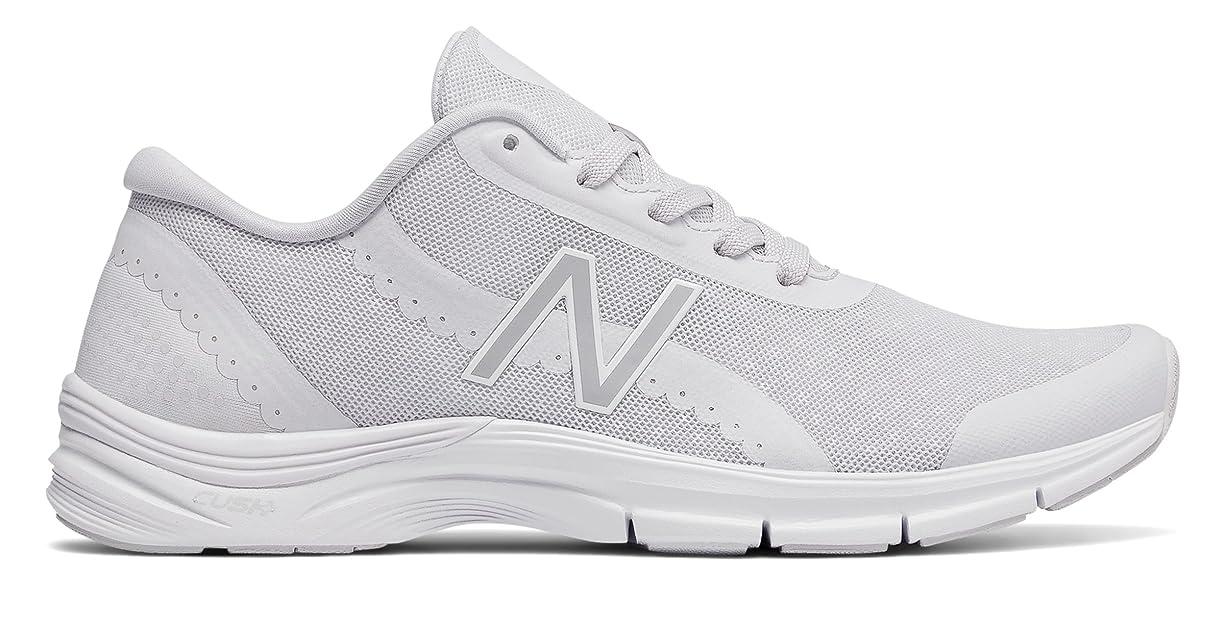 芸術的病者勝者(ニューバランス) New Balance 靴?シューズ レディーストレーニング 711v3 Mesh Trainer Arctic Fox with White ホワイト US 9.5 (26.5cm)