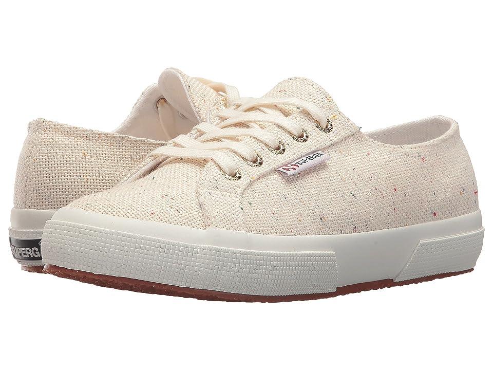 Superga 2750 Specklew Sneaker (White Multi) Women