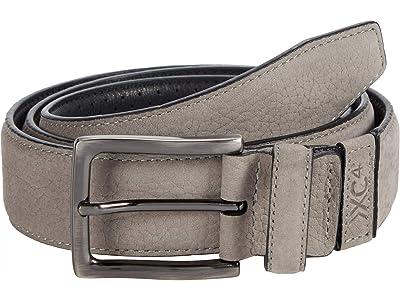 Johnston & Murphy XC4 Dress Belt (Gray Leather) Men