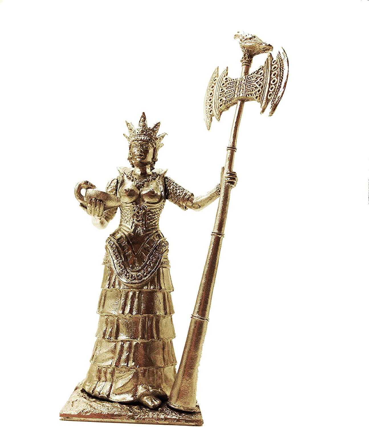 Trojan War 13-14 Century BC Theano, The Priestess of The Temple of Athena Tin Metal 54mm Action Figures Toy Soldiers Size 1 32 Scale for Home Décor Accents Collectible Figurines Item  C5010
