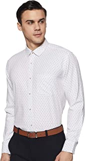 Amazon Brand - Symbol Men's Slim Fit Full Sleeve Cotton Formal Shirt